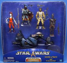 Star Wars Ultimate Rebels Bounty Hunters Boba Fett Bossk Aurra Sing Swoop Bike