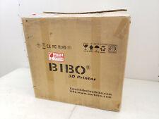 Bibo 3D Printer Dual Extruder Laser Engraving Sturdy Frame Touch Laser X Glass