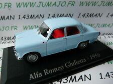 RBA17M voiture 1/43 RBA Italie IXO : ALFA ROMEO Giulietta bleu 1956
