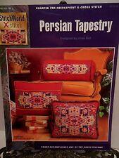 Persian Tapestry Cross Stitch Needlepoint Pattern StitchWorld Middle East Persia