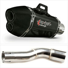 Lextek XP13C Exhaust Silencer with Link Pipe for Honda CMX 500 Rebel (17-19)