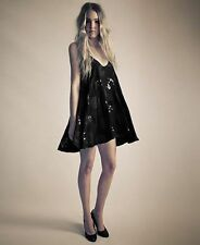 Love is Treason Fear of Objects Black Dress with Sequins 6 RRP: $198.00