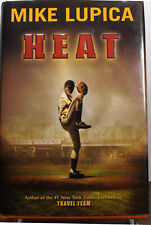 1st Edition H/C Baseball Novel – Heat  by Mike Lupica