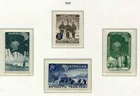 S31303) Australian Antarctic 1959 MNH Dauermarken 4v
