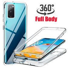 For Samsung Galaxy S20 FE 5G 360° Full Protect Clear Soft TPU+PC Case Cover