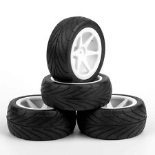 Front&Rear 25034+27007 Tyre Tires Wheel Rim For  RC 1:10 On-Road Buggy Car 4PCS