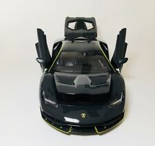 MAISTO LAMBORGHINI CENTENARIO 1/18 DIECAST MODEL CAR GREY yellow