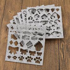 Needle Felting Stencil DIY Decor Shaping Template Making Craft Various Patterns