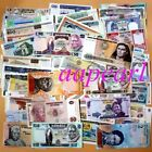 Wholesale Lot 100 Pcs Different Paper Money World  Banknotes Rare Collections