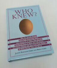 Who Knew? Book by Jeanne And Bruce Lubin Hardcover Tips Fixes To Make Life Easy