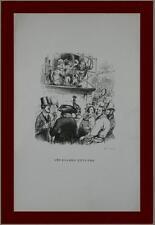 incisione 1851 vignetta orangs gutangs illustratore satirico francese Grandville