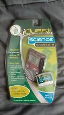 Leap Frog iQuest Cartridge Science Grade 6-8 Sealed New in Box