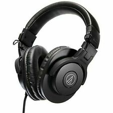 Audio-Technica ATH-M30x Professional Monitor Over the Ear Headphones - Black