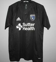 MLS Adidas San Jose Quakes Soccer Football Jersey New Mens Sizes $55