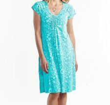 FRESH PRODUCE Large LUNA Blue EMMA Wander Stretch Knit Dress NWT New L