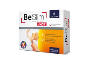 Be Slim Fast Gewichtsverlust Abnehmen 60 Tab. Anti-Cellulite Entfernt Wasser
