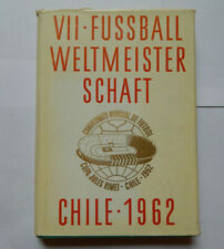 1962 FIFA World Cup in Chilie Yearbook by Hack & Kirn Hardcover