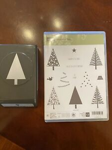 stampin up Festival Of Trees Stamp Set And Tree Punch