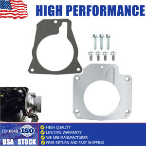 LS Throttle Body Gasket kit Adapter/4 Bolt Intake to 3Bolt for LS1 Truck Adapter