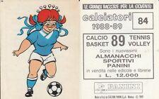 ALBUM FIGURINE CALCIATORI PANINI 1988-89 - MASCOTTE N. 84 COMO   - LEGGI