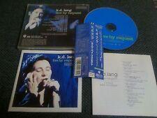 KD LANG / live by request /JAPAN LTD CD OBI