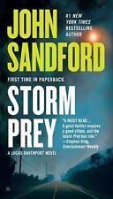 STORM PREY by John Sandford FREE SHIPPING paperback book Lucas Davenport series