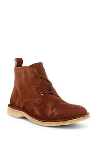 NWB Andrew Marc Dorchester Suede Chukka Boot Size: 13 RETAIL: $198 Brown