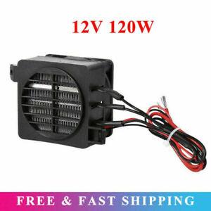 12V 120W Car Air Heater Fan Constant Temperature PTC Electric Heating Element UK