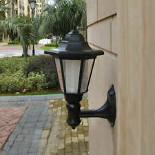Solar LED Outdoor Corridor Wall Light Waterproof Garden Patio Lamp Lantern
