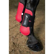 John Whitaker Tendon and Fetlock Boots, Cob Size, Red