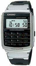 New CASIO CALCULATOR Digital Watch CA-56-1UW Data Bank Black