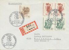 BERLIN 1969 Berliner des 19.Jahrhunderts 10Pf Pferdeomnibus, 20Pf (2x), 30Pf (2x