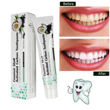 Coconut Activated Carbon Bamboo Charcoal Teeth Whitening Whitener Tooth Paste