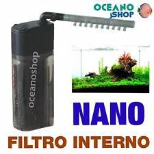 Filtro Interno Fluval Nano gran calidad para acuario pecera tortuguera gambario