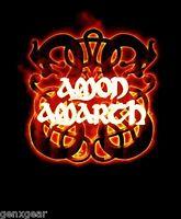 AMON AMARTH cd lgo FIRE HORSES Official Black SHIRT LRG new