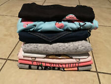 Justice Size 10 Sweat Pants Shorts Shirts Skirt Flamingo Llama Cookie Girl Lot