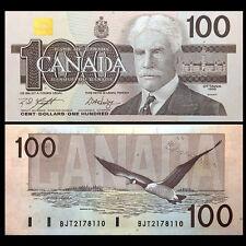 Canada 100 Dollars, 1988, P-99, UNC