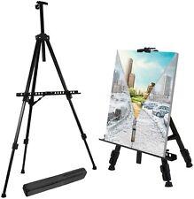 New Portable Adjustable Metal Easel Stand Foldable Travel Tripod Sketch ArtCraft