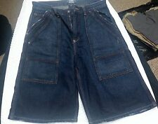 Used Barely Worn Polo Ralph Lauren Blue Dungarees Shorts Size 20