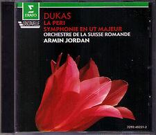 Paul DUKAS La Peri Symphony C-dur ARMIN JORDAN Erato CD 1985 Sinfonie