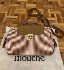 Mouche Striped Womens Handbag
