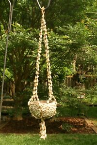 HANGING PLANATER OF SHELLS