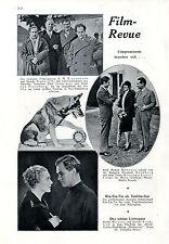 Der deutsche Schäferhund Rin-tin-Tin als Tonfilmstar u.a. Photo-Collage c.1930