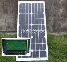 20w Energía Solar Módulo Panel 12v Cargador de batería 12volt barco Marina Yacht sistema