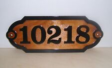 Personalized wood SIGN.STREET HOUSE ADDRESS NUMBER .Laser ENGRAVED.GIFT.