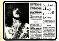 (Sds)24/3/1973Pg5 Black Sabbath, Article & Picture
