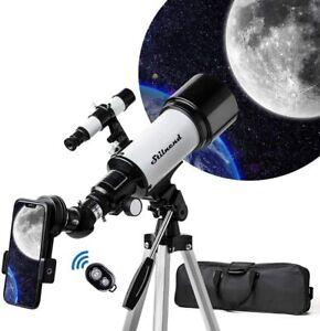 Telescope 70mm Aperture 500mm AZ Mount Portable Astronomical Refractor Telescope