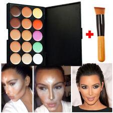 New 15 Shades Colour Concealer Contour Makeup Palette Kit Make Up Set