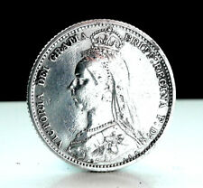 A rare silver Victorian sixpence 1888: The year of Jack the Ripper
