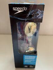 New PINK Racing Speedo Women's PERFORMANCE Vanquisher 2.0 Mirrored Swim Goggles